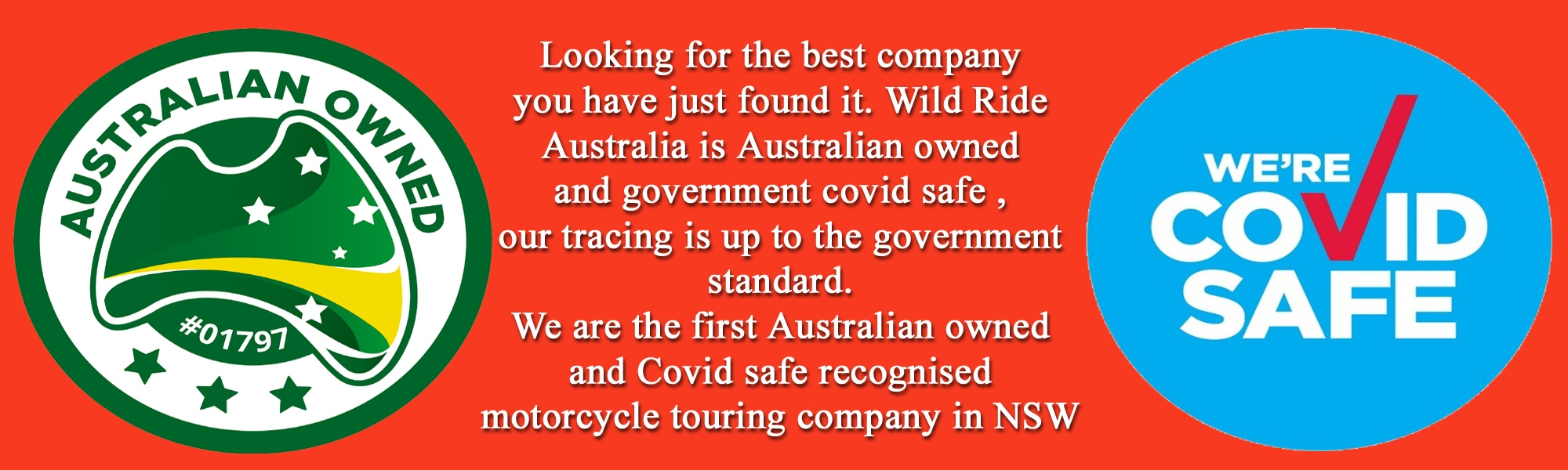 Australian owned Covid safe