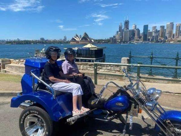 Wild ride australia trike tour sydney harbour bridge opera house
