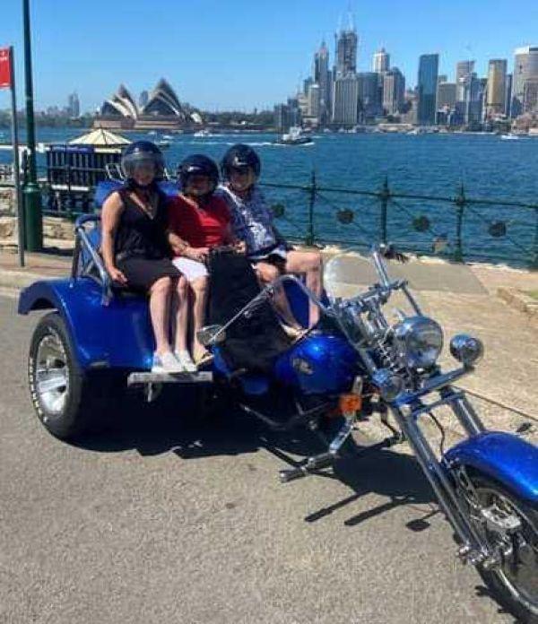Wild ride trike tour