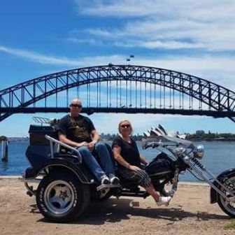 Steve & Cindy's 30  Minue Harbour Bride Trike Tour.