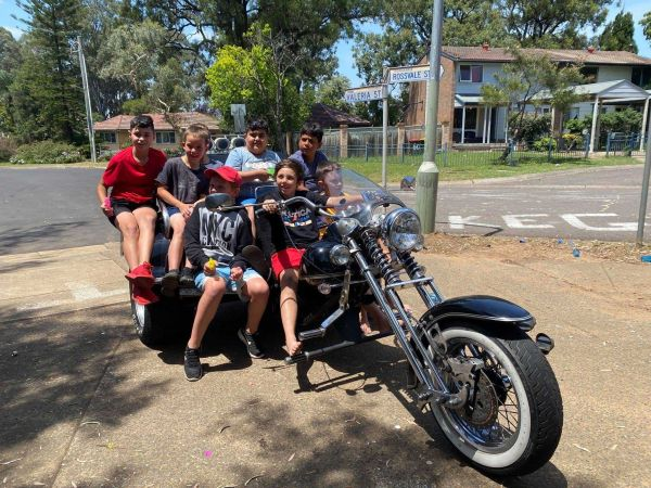 Wild ride australia party birthday trike tour sydney